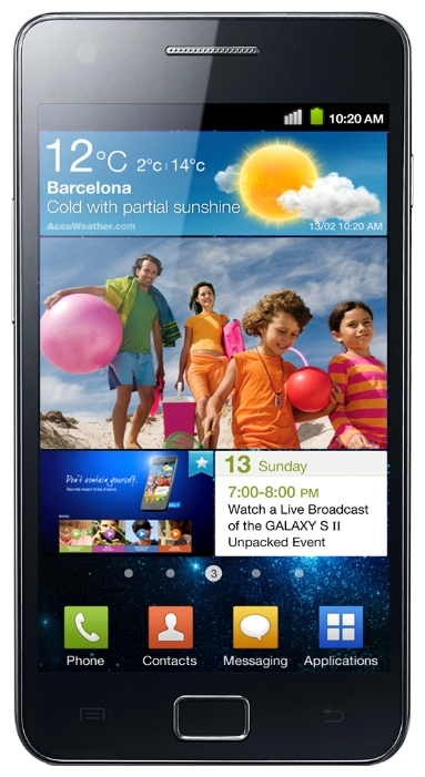 Samsung I9100 Galaxy S II Black
